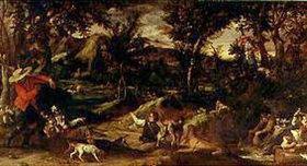 Annibale Carracci: Die Jagd
