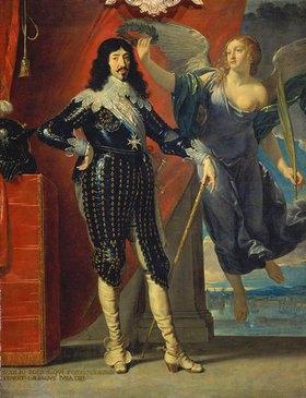 Philippe de Champaigne: Louis XIII. wird von der Viktoria gekrönt