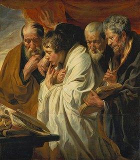 Jacob Jordaens: Die vier Evangelisten