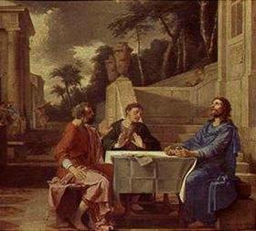 Laurent de La Hyre: Christus und die Jünger in Emmaus