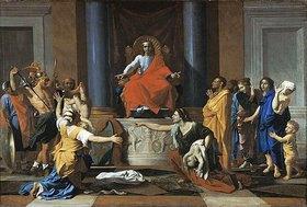Nicolas Poussin: Das Urteil des Salomo