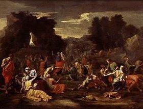 Nicolas Poussin: Die Isareliten sammeln das Manna