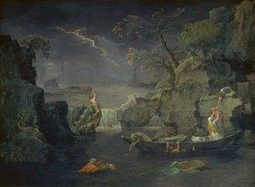 Nicolas Poussin: Der Winter (oder: Die Sintflut)