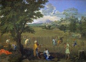 Nicolas Poussin: Der Sommer (oder: Ruth und Boas)