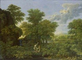 Nicolas Poussin: Der Frühling (Das irdische Paradies)