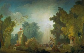 Jean Honoré Fragonard: Das Fest im Park von St. Cloud