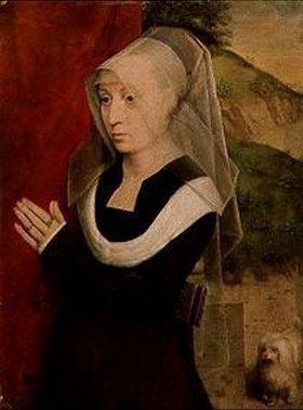 Hans Memling: Bildnis einer betenden Frau