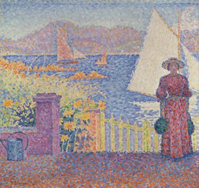 Paul Signac: In St. Tropez