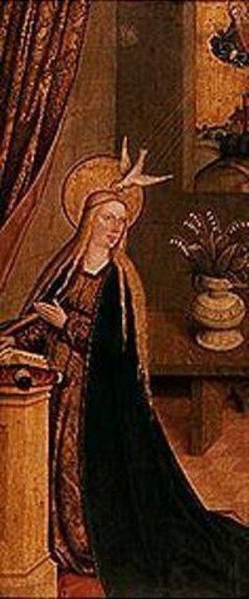 Bartholomeus Zeitblom: Maria der Verkündigung