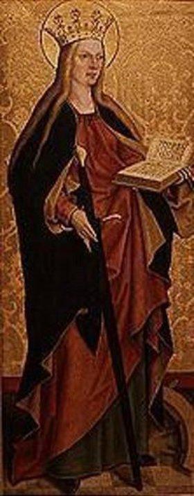 Bartholomeus Zeitblom: Die hl.Katharina