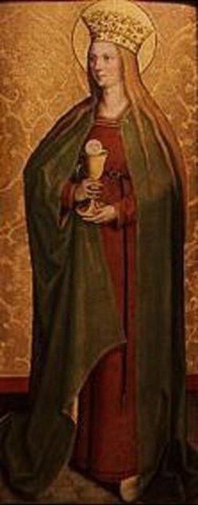 Bartholomeus Zeitblom: Die hl.Barbara