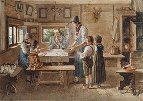 Lorenzo Quaglio d.J.: Das Tischgebet