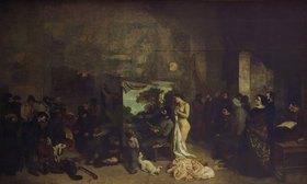 Gustave Courbet: Das Atelier des Künstlers, eine reale Allegorie