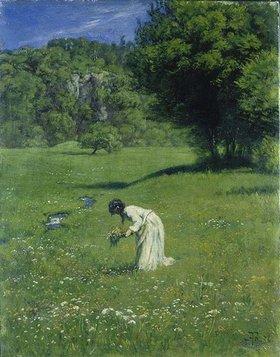 Hans Thoma: Auf der Waldwiese (Im Wiesengrund)