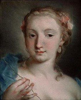 Rosalba Carriera: Die Parze Lachesis