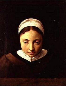 Cornelis Poelenburgh: Bildnis eines jungen Mädchens