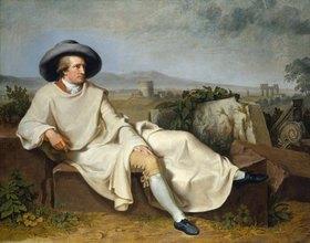 Johann Heinrich Wilhelm Tischbein: Goethe in der römischen Campagna