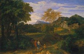 Jean-François Millet: Klassische Landschaft. Um 1660(?)