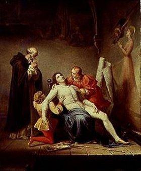 Auguste Couder: Der Tod des Malers Masaccio