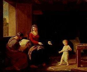 François Guillaume Ménageot: Die heilige Familie