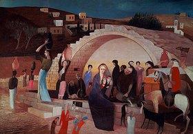 Tivadar Csontváry-Kosztka: Der Marienbrunnen in Nazareth