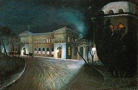 Tivadar Csontváry-Kosztka: Um Mitternacht am Budapester Ostbahnhof