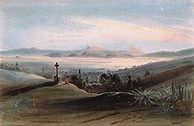 Johann Moritz Rugendas: Tacubaya bei Mexico