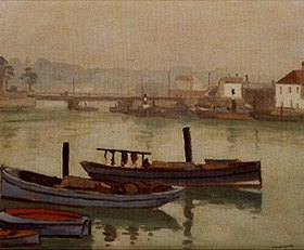 Albert Marquet: Der Hafen von Saint-Jean-de-Luz