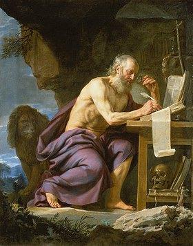 Philippe de Champaigne: Der hl.Hieronymus in der Wildnis