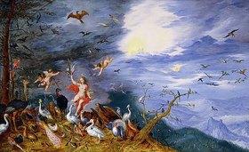 Jan Brueghel d.J.: Allegorie der Luft, mit Uranus