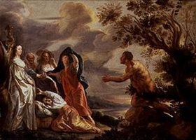 Jacob Jordaens: Odysseus und Nausikaa