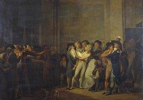Louis-Léopold Boilly: Die Verhaftung des Sängers Garat