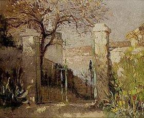 Pierre-Eugene Montézin: Das Gartentor