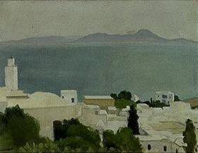 Albert Marquet: Das Minarett von Sidi-Bou-Said