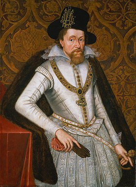 John de Critz d.Ä.: Bildnis James VI. von Schottland, König James I. von England