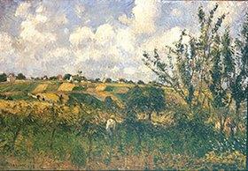 Camille Pissarro: Landschaft bei Pontoise