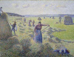Camille Pissarro: Heuernte