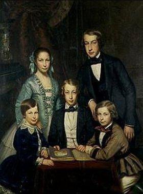 Fritz Hickmann: Die Familie des Künstlers