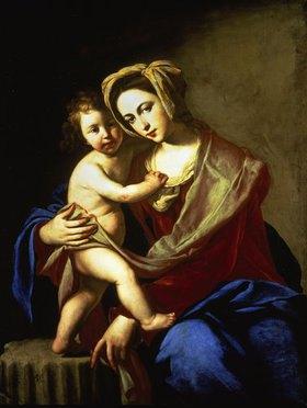 Massimo Stanzione: Madonna und Kind