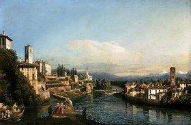 Bernardo (Canaletto) Bellotto: Ansicht von Vaprio