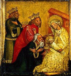 Böhmisch: Die Anbetung der Könige