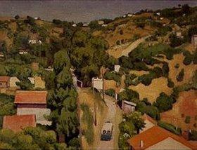 Albert Marquet: Landschaft (Mont Plaisant)