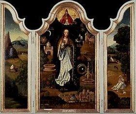Adriaen Isenbrant: Immaculata-Triptychon