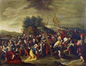 Frans Francken II.: Der Weg nach Golgatha