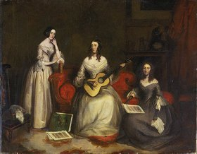 Joseph Umkreis Severn: Die drei Schwestern