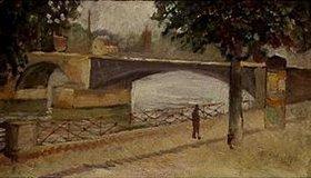 Edvard Munch: Die Seine bei St.Cloud