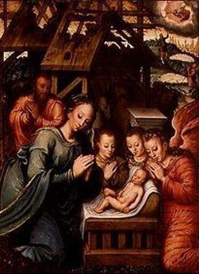 Ambrosius Benson: Die Geburt Christi