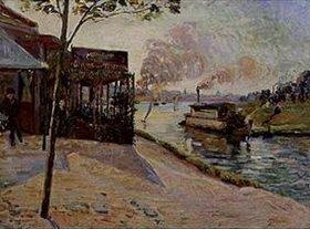 Jean-Baptiste Armand Guillaumin: Dampfboot auf der Seine bei Alfortville