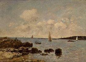 Eugène Boudin: Antibes, Küstenlandschaft