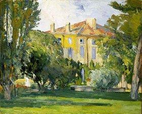 Paul Cézanne: Das Haus in Jas de Bouffan